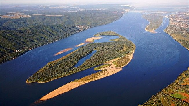 Natural Beauty of the Volga River, Russia | Where I've ...