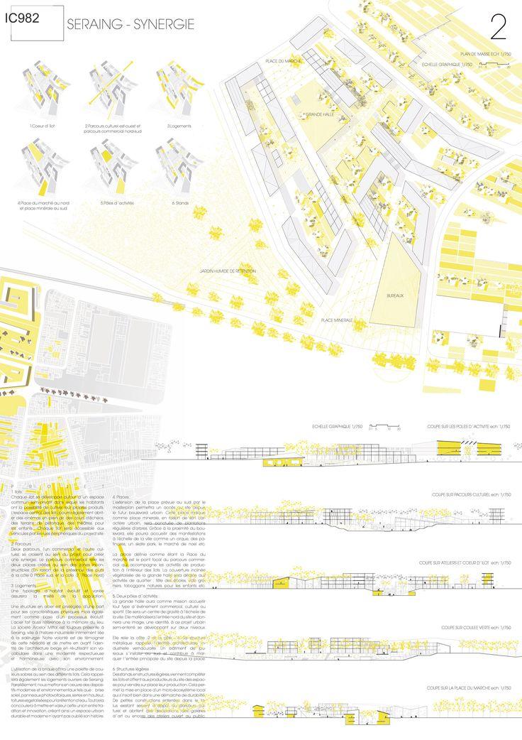 Seraing - Synergie   winner Architecture Competition Europan 12   Seraing, Belgium   Luis Masia Massoni, Fabio Cavaterra