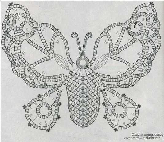 17 best images about butterfly crochet and knit on