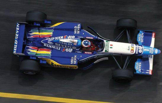 Michael Schumacher (San Marino 1995) by F1-history