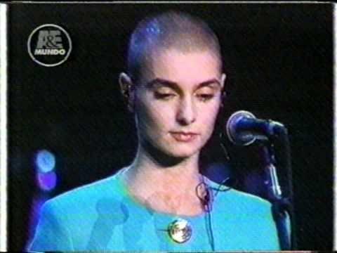 Escándalo histórico: La noche que terminó la carrera de Sinéad O´Connor | Rock