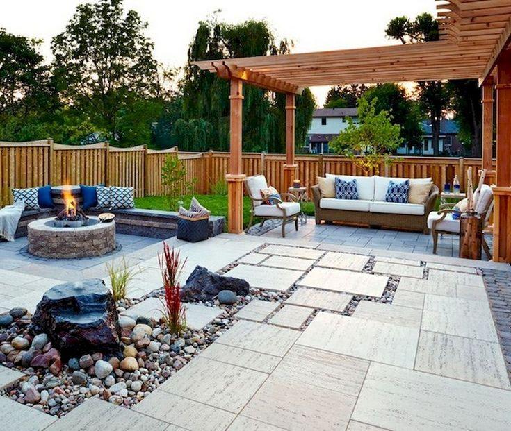 32 lovely backyard patio decor ideas
