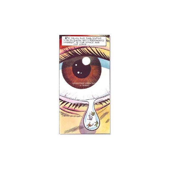 Classic tears eye in marvel comics cool by watermelonstickers