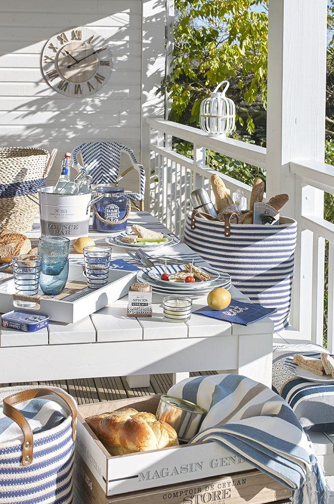 Deko-Trend Escale - In den Hamptons untertauchen | Maisons du Monde