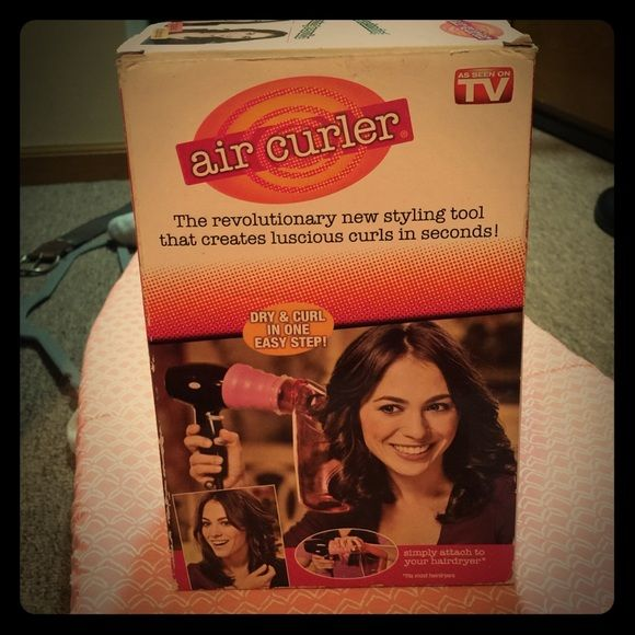 Air Curler Air curler; still in box; never used Air Curler Accessories Hair Accessories