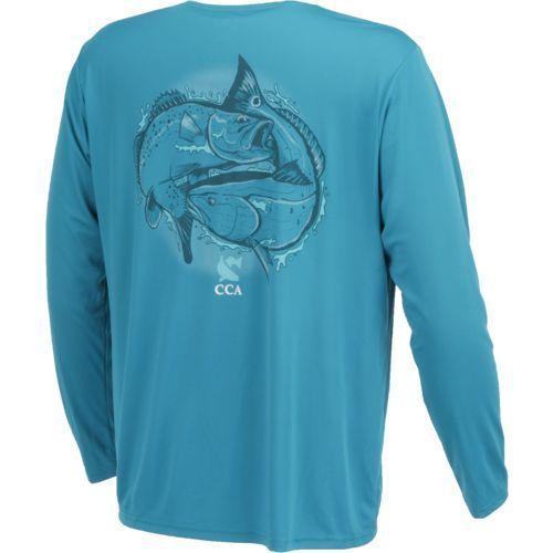 CCA Men's Moisture Management Long Sleeve T-shirt   Alex   Pinterest    Polos, Management and Short sleeves
