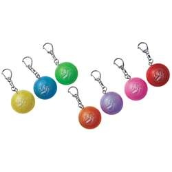 Sasaki Mini Ball (MS-9): Take a rhythmic gymnastics ball with you wherever you go with this cute, colorful MS-9 Mini Ball Keychain from Sasaki. Made from sturdy chloroethylene, the tiny RG ball measures 4cm in diameter, meaning it is easily portable. Choose from a range of playful and vibrant colors, including red, pink, green, yellow, orange, purple and blue. On Sale for $9.
