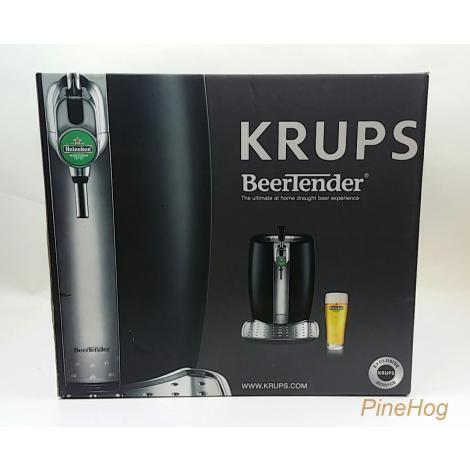 For Sale: Krups Heineken B100 Beertender Draught Beer Cooler Keg Black NEW IN BOX
