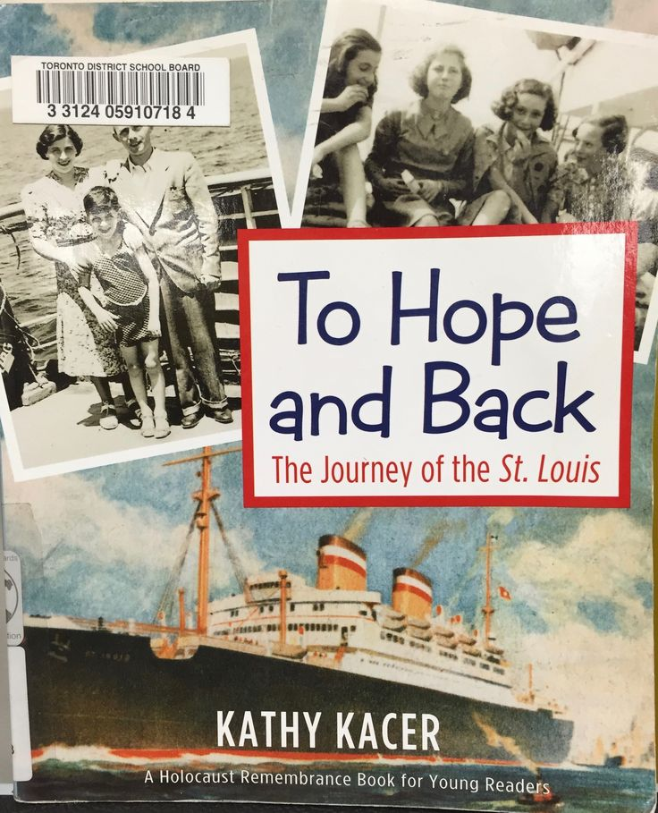 To Hope and Back (940.5318 KAC) by Kathy Kacer