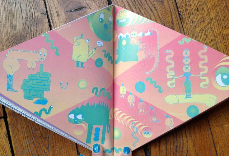 """Le nouveau """"Cahiers de l'Articho"""" est paru !!!   Une  revue-objet en forme de triangle équilatéral, avec pour thème les FORMES GÉOMÉTRIQUE..."""