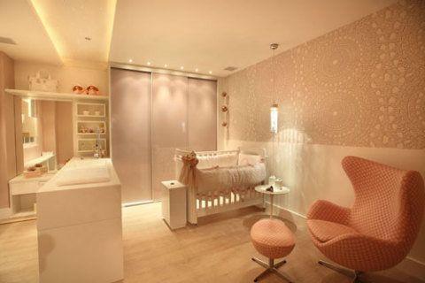 O quarto do bebê foi projetado pelas arquitetas Manuela Guida e Flávia Ladv...