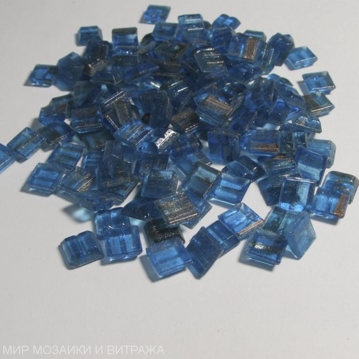 Мозаика стеклянная GA62 10х10 мм (под матрицу)