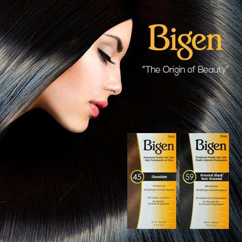 Bigen Hair Color 0.21oz, Bigen Hair Dyes (2 Pack, 58 Black Brown) * Visit the image link for more details. #hairideas
