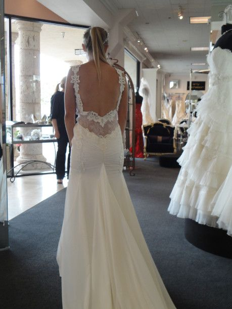 Berta bridal collection runway at mon amie bridal salon for Mon amie wedding dresses