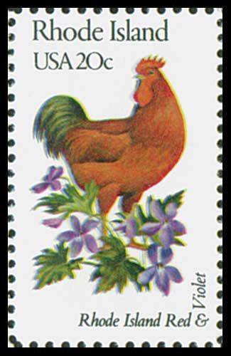 1982 20c Rhode Island State Bird - Catalog # 1991 For Sale at Mystic Stamp Company