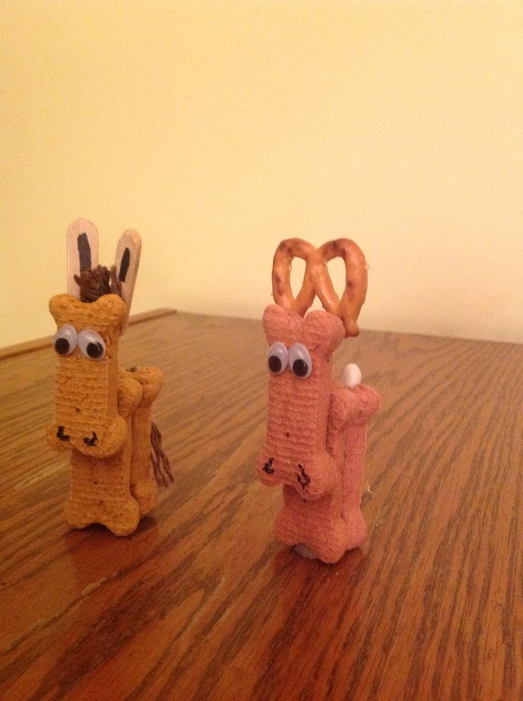 Balaam S Donkey For A Bible Story Craft And A Reindeer For