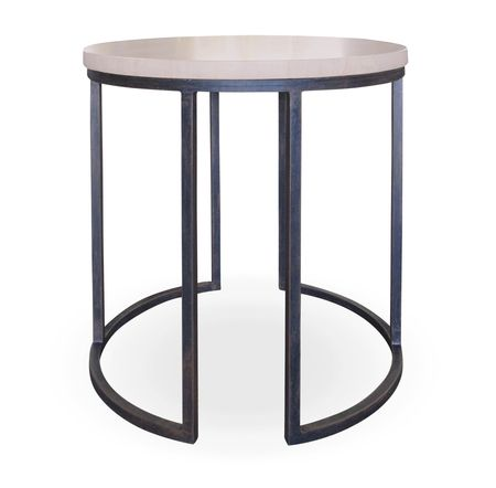 Dune Side Table With A 30mm Sandstone Top