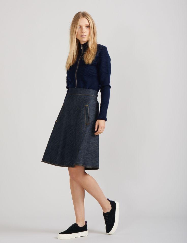 Denim Stelly skirt