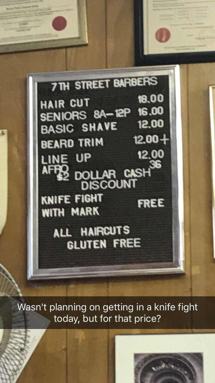 The sign at my local barber shop http://ift.tt/2zPK9hP
