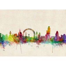 Michael Tompsett - London Skyline