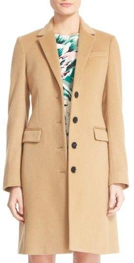 Women's Burberry Sidlesham Wool & Cashmere Coat