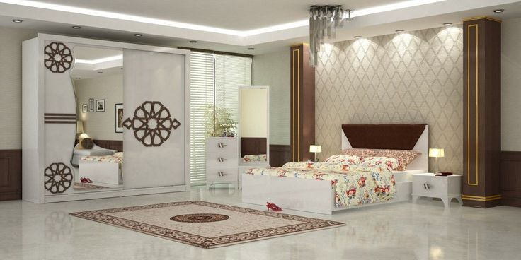 Roza Bedroom Furniture Set White 1-Turkey-Wholesale-Supplier-Cheap Prices