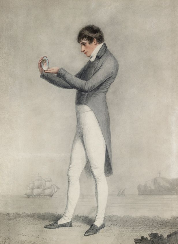 'Farewell' - See this 1800 drawing by Adam Buck Ashmolean Museum The theme of separation by a sea voyage was common during & after the Napoleonic wars when many young men left home for the Royal Navy.