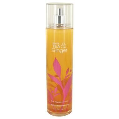 Body Mist Spray Infused with Real White Tea and Ginger Extracts 8 oz