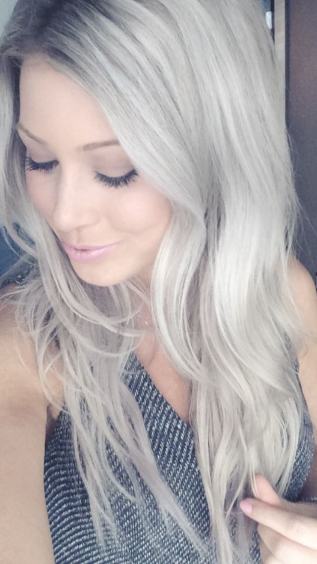 12 Best White Hair Dont Care Images On Pinterest Colourful Hair