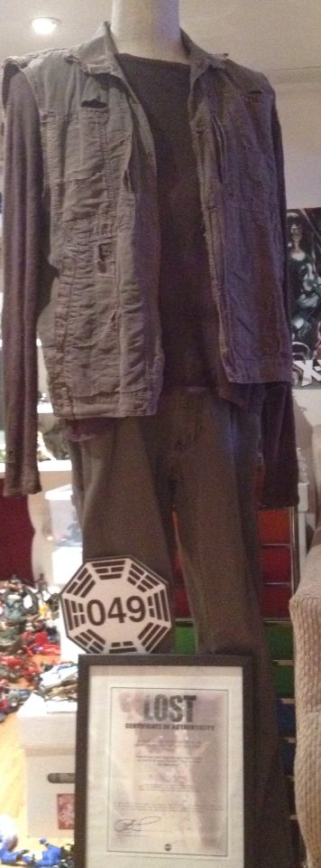 One of Richard Alpert's costumes from 'LOST'.