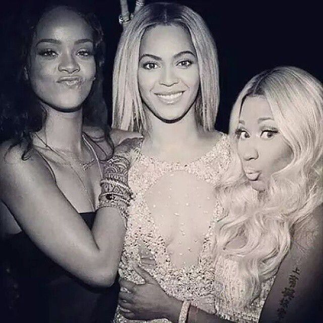 Beyoncé Nicki & Rihanna - The Holy Trinity