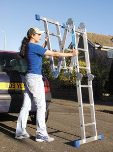 Multi Purpose Ladder - will need one of these to get up the walls!