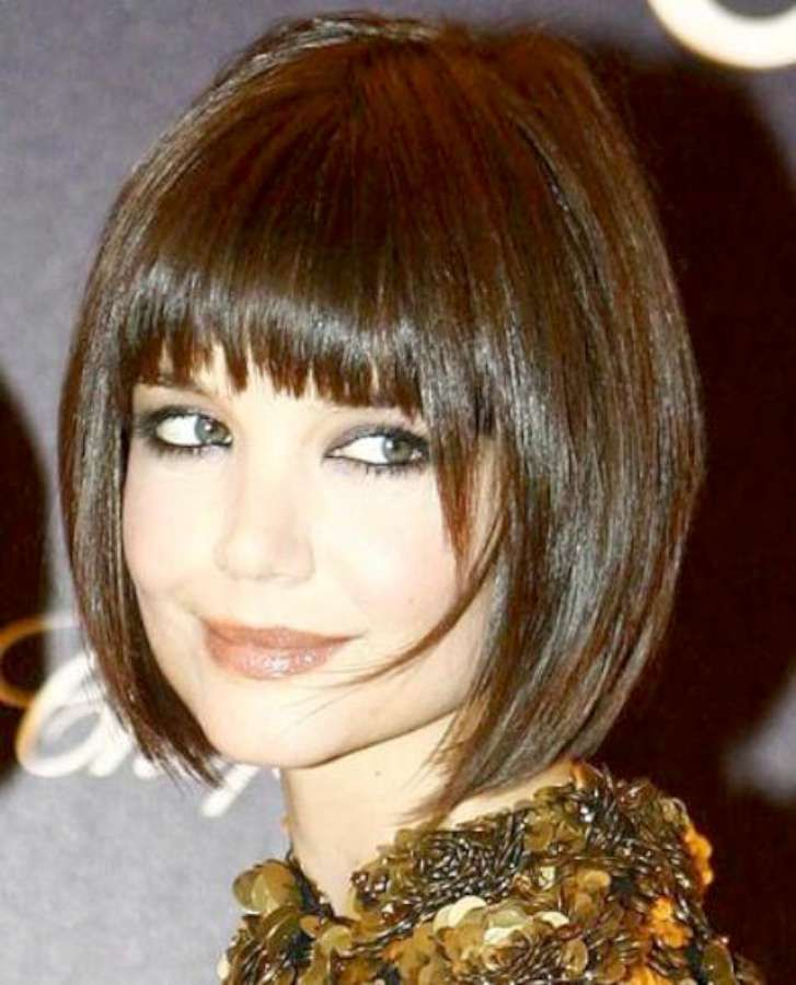 Short Hairstyles For Round Faces 2013