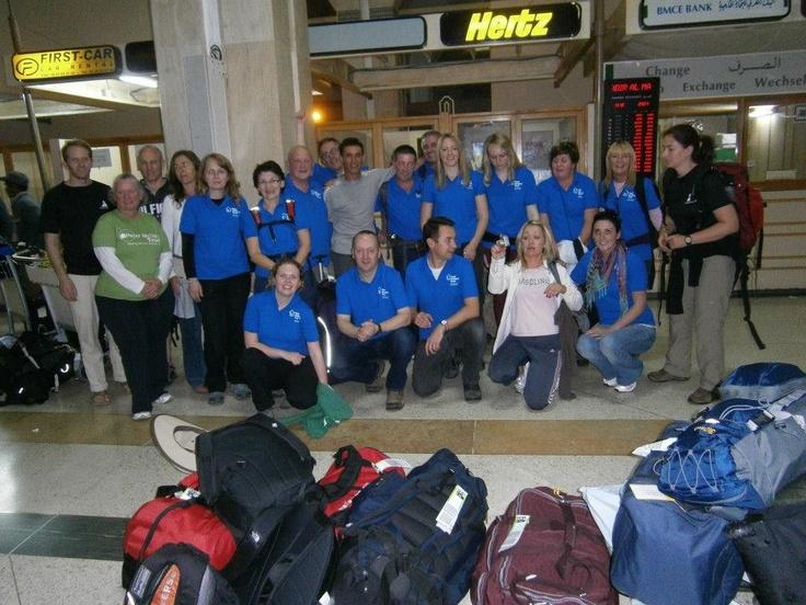 McVerry Trekkers in Agadir Airport