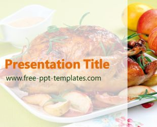 Mejores 9 imgenes de food and drink powerpoint templates en chicken powerpoint template is a white template with appropriate background image of chicken which you can forumfinder Image collections
