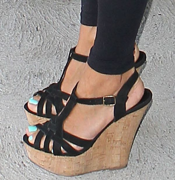 1000  ideas about Wedge Sandals on Pinterest | Wedges, Black wedge ...