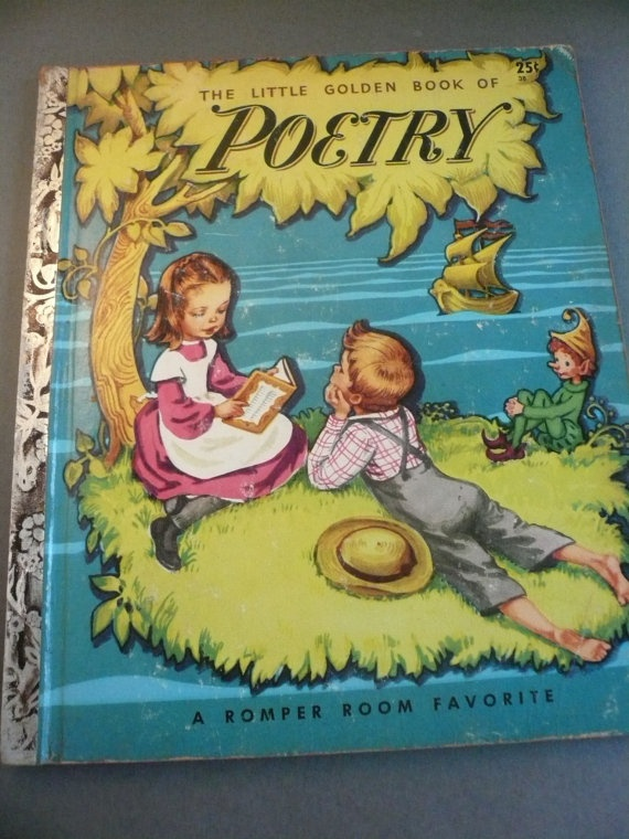 The Little Golden Book of Poetry - A Romper Room Favorite