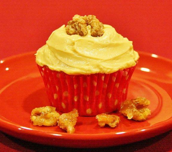 Maple Walnut Cupcakes | Favorite Recipes | Pinterest