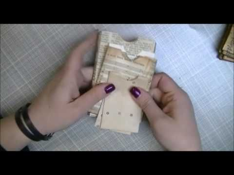 More bags a tutorial and a question!!! - YouTube....Great little bags, measurements given.