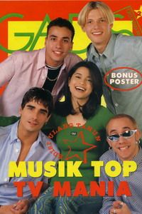 Models: Jihan Fahira (Alumni GADIS Sampul 1993, actress) & Backstreet Boys. GADIS 29/1996 #GADIS40TH