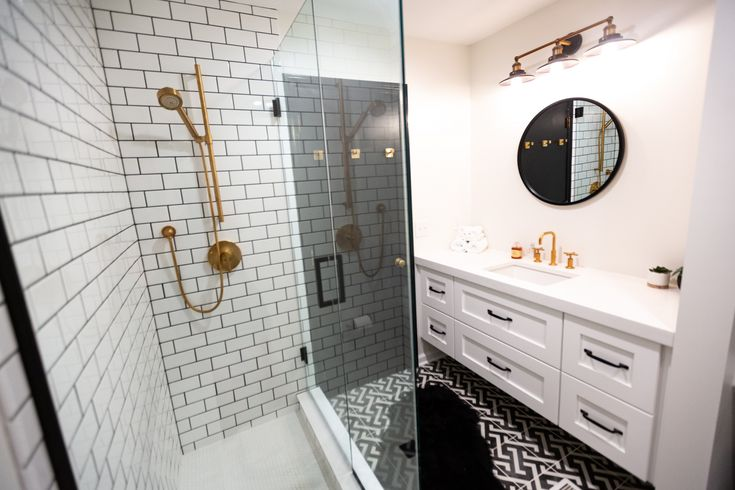 Simple Clean And Dramatic A Bath Kitchen Makeover Bathrooms Remodel Kitchen Makeover Remodel
