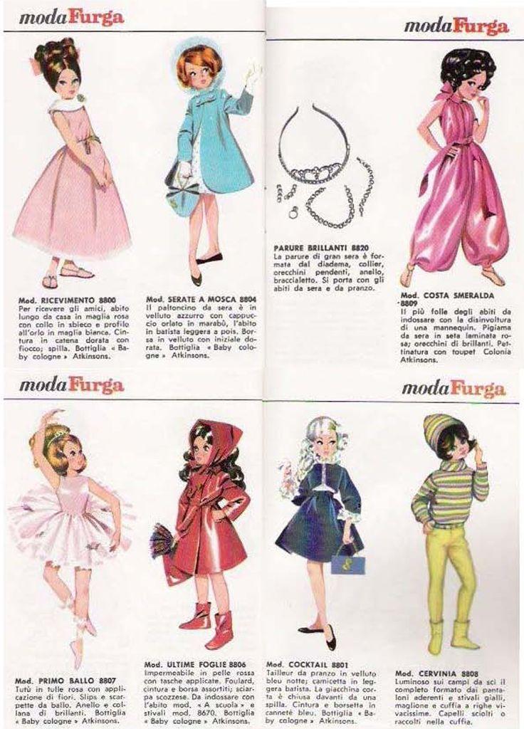 BAMBOLE FURGA TRE ESSE: CATALOGO 1966 pag 12 di 13