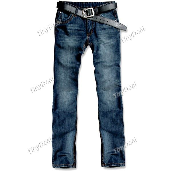Trendy Denim Straight Jeans Pants Casual Trousers for Boy Man NMN-141572