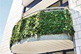 Balkon-Sichtschutzhecke, 300 x 100 cm