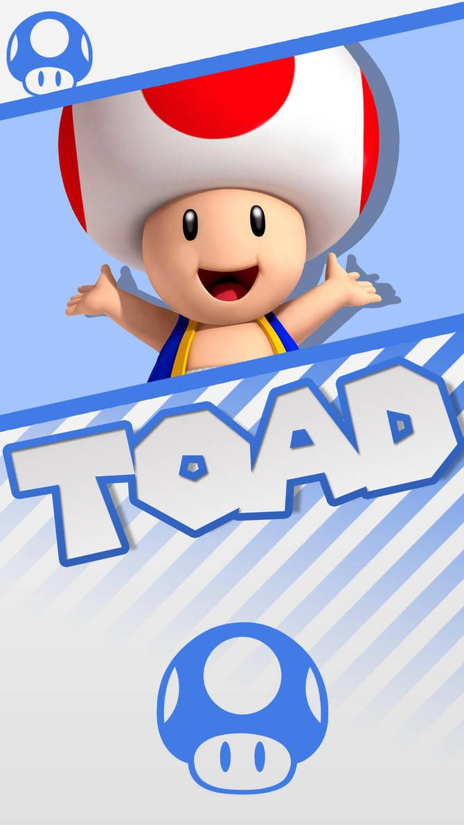 Toad Super Mario Phone Wallpaper By Mrthatkidalex24 Super Mario Bros Super Mario Art Super Mario