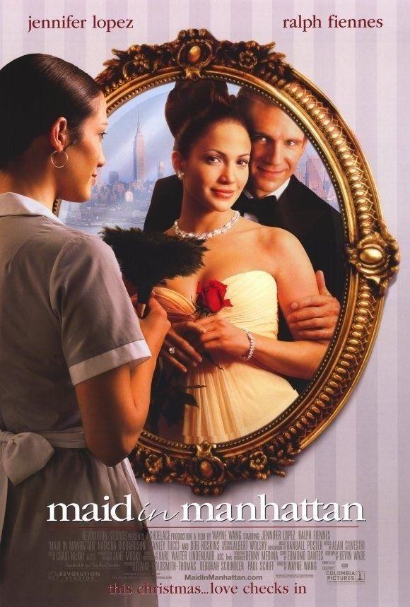 1 Maid In Manhattan Movie Poster 1 Sided Original Mini Sheet