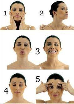 Йога для лица