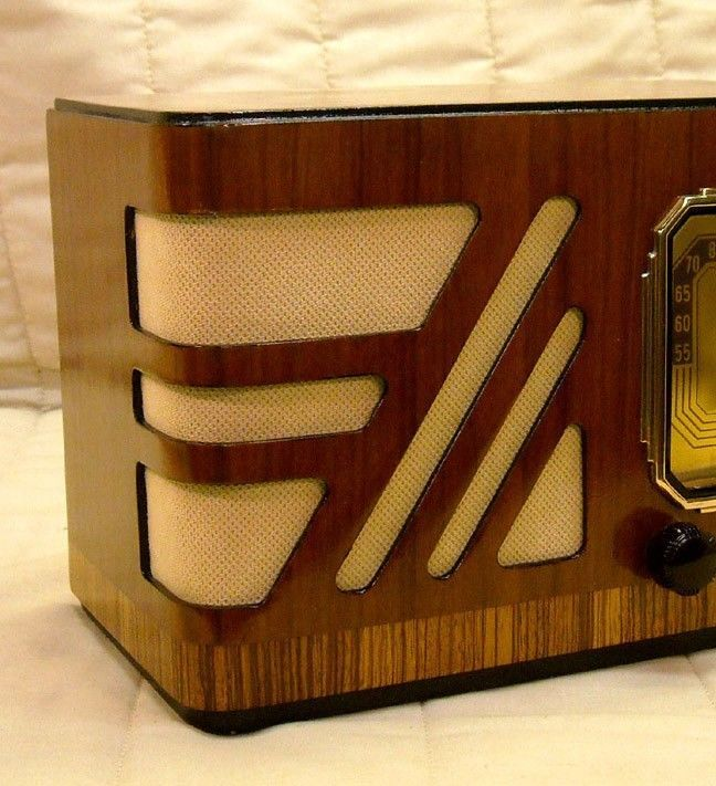 Vintage Gold Speaker Grill Cloth Art Deco – Old Antique Radio Grille Restoration…
