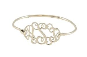 Perfect!Filigree Monograms, Filigre Monograms, Style, Monograms Bangles, Monogram Bracelet, Sterling Silver, Jewelry, Monograms Bracelets, Bangles Bracelets