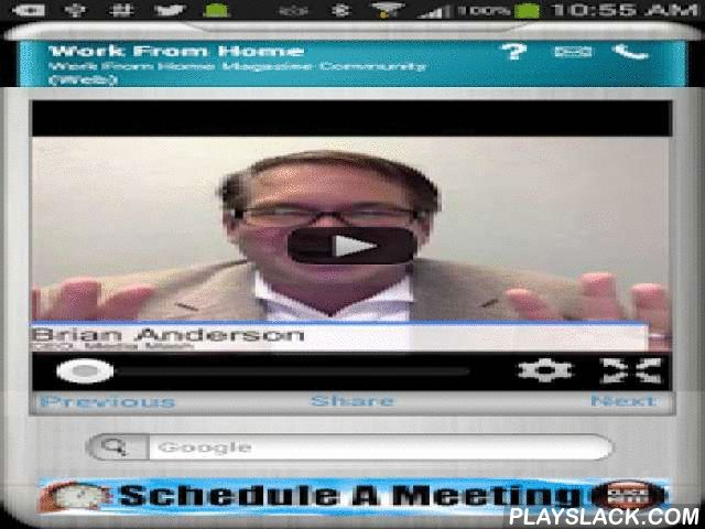 Work From Home Magazine  Android App - playslack.com , FREE Download now.Revolutionize the way you do Online Business, make boatloads of Money Online by joining Work From Home Magazine Community. Be your own Boss, Work from home & create Profits beyond belief. The content shared by experts will provide you step by step techniques you can follow to achieve financial success while working from home.Our privacy policy and terms of use can be found at…